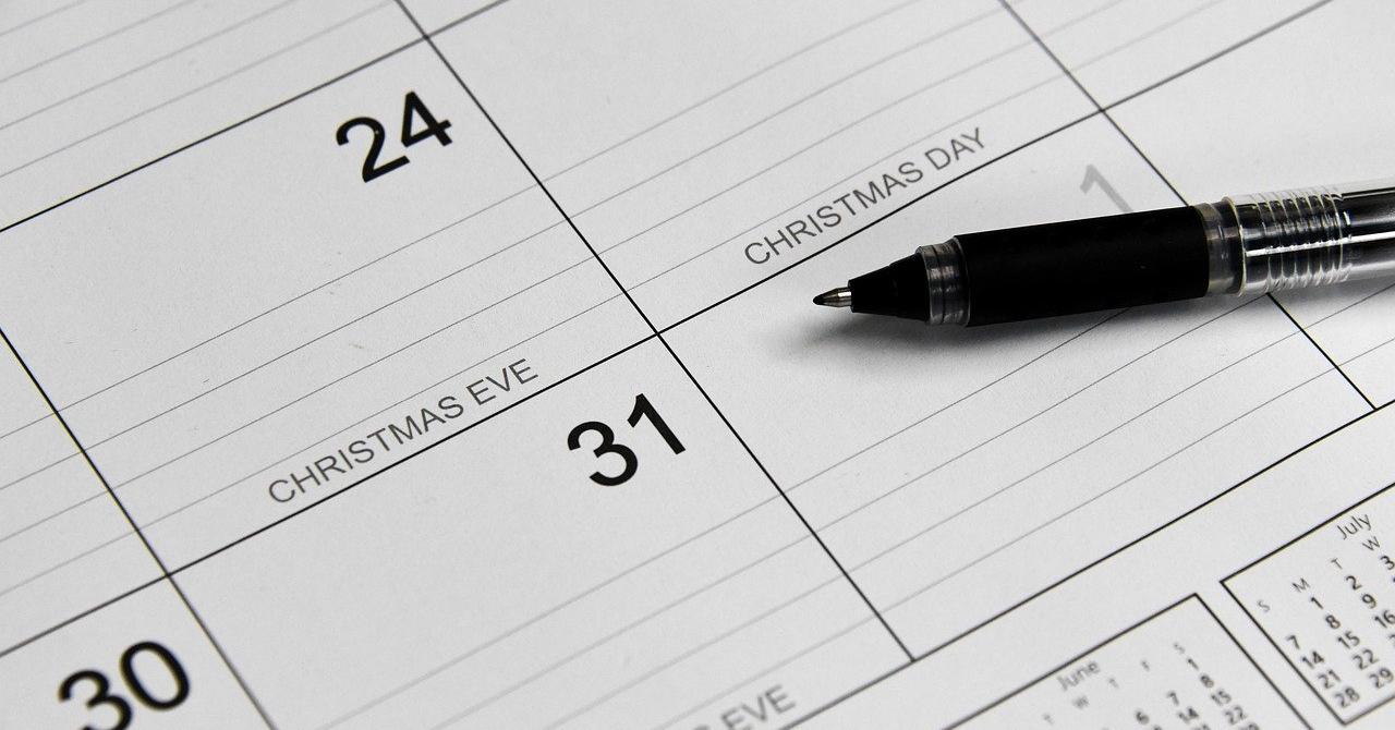 calendar holiday